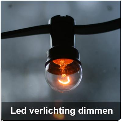 het dimmen van led verlichting