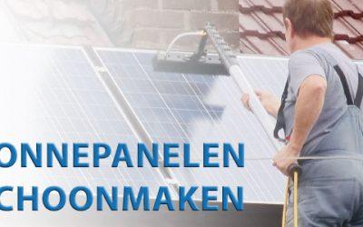 Hoe maak ik zonnepanelen schoon?