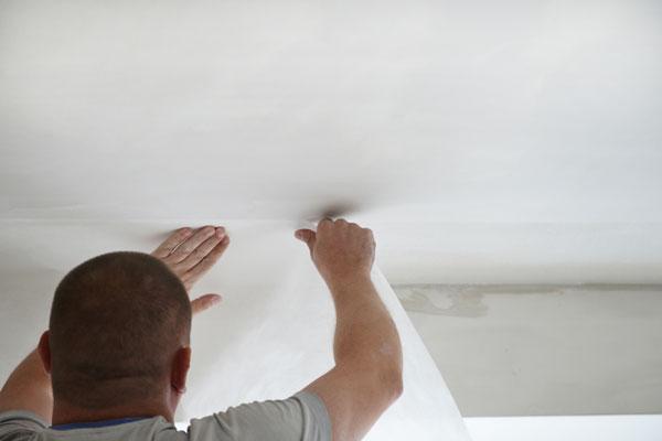 spanplafond bevestigen